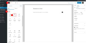 editace sloupců - krok 1